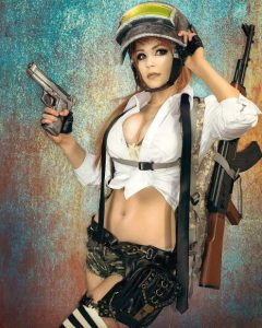 Cosplay Karakter Game PUBG/IST
