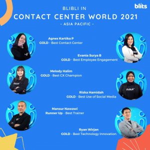Blibli for Contact Center World - Asia Pacific 2021 Competition